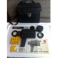 Super8 Movie Camera with Instruction Book