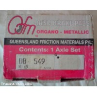 Brake Pads Organo Part OB549 no:69