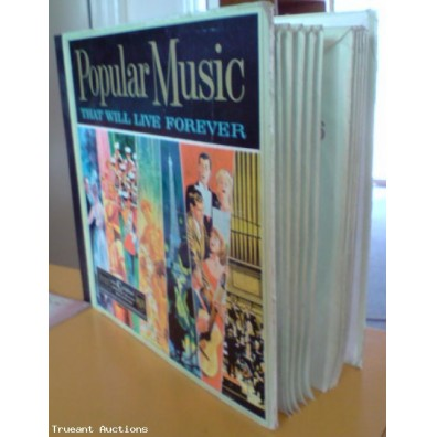 "Readers Digest ""Popular Music"" That Will Last Forever Record Collection"