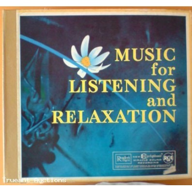 Readers Digest Music for Listening & Relaxation Record Collection