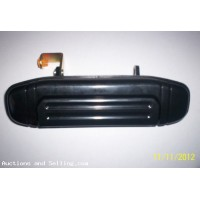 Mitsubishi Pajero 1998 drivers rear Door Handel (black), New