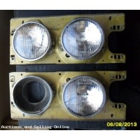 6 Inch Lucas Sealed Beam Lights With Mounts