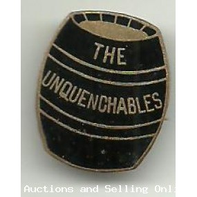 The UnQuenchables Badge Wallace Bishop Brisbane Trademark