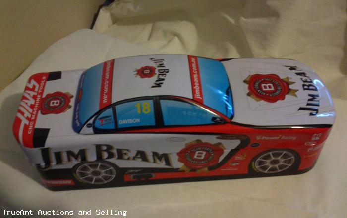 Jim Beam Racing Car Tin